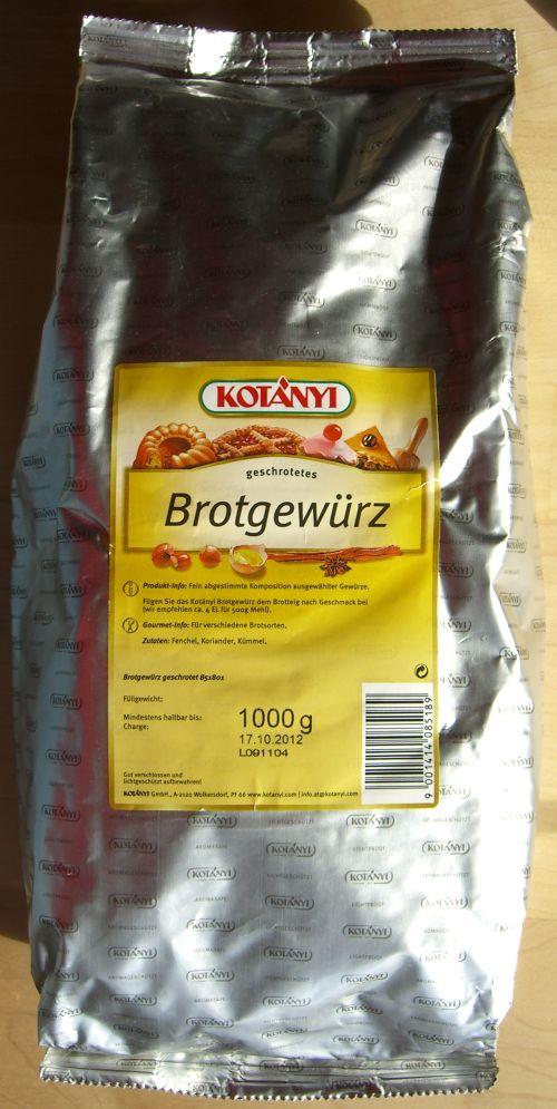Kotanyi Brotgewürz