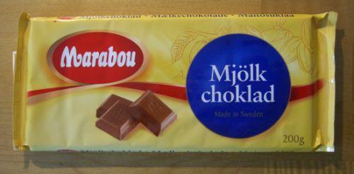 Marabou Mjölk choklad - Milchschokolade