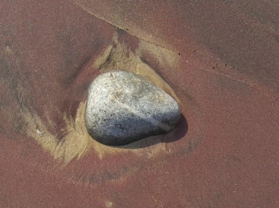 Sand hat hier verschiedene Farben - hier mal lila