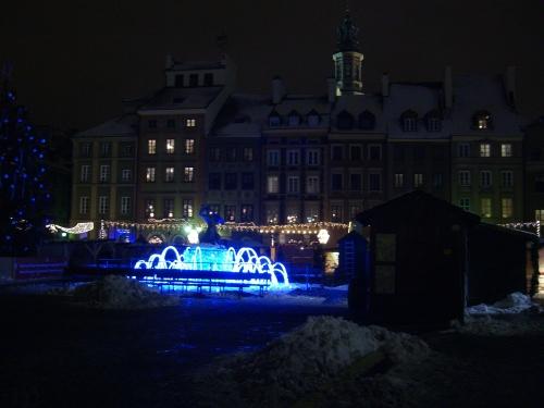Warschau zu Weihnachten
