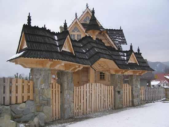 Zakopane Holzhaus