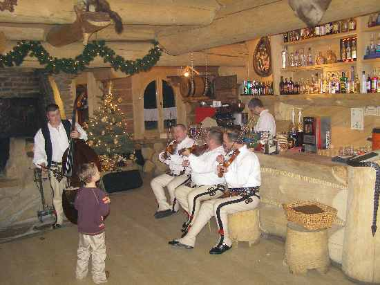 Zakopane - Holzhaus mit Musik